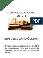 Escritorio de Advocacia on Line Apresentacao Fgv