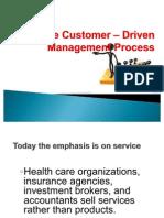 The Customer – Driven Management Process -MM 112 HAGONOS