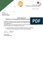 Kindergerechte Elektroden bei Reanimations-Defibrillatoren Anfrage & Antwort BürgerUnion