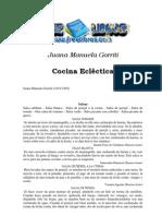 Gorriti, Juana Manuela - Cocina Eclectica
