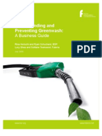Understanding Preventing Greenwash