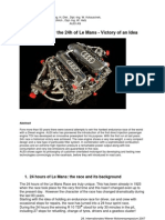 Audi R10 Engine Tech Paper