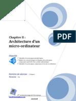 ChapII 2TI Architecture d'Un Ordinateur