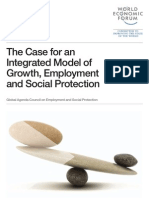 WEF GAC Case Integrated Model Growth Employment Social Protection Report 2012