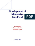 Development of Mansuriya Gas Field (Iraq)