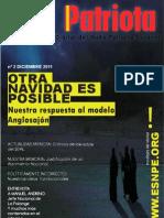 El Patriota n 02 - Diciembre 2011