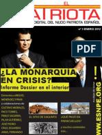 El Patriota n 03 - Enero 2012