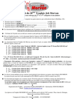 règlement 20ème Trophée Job Morvan - 2012-2