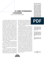 Araucanos Como Personajes Literarios (M a. Auladell)