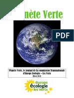 Planète Verte Hiver 2012