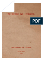 Bulletin de L'Étoile N°4 Juillet-Août 1933 par J. Krishnamurti