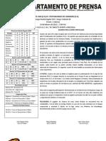 Reporte #10 Guaros - Trotamundos