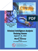Criminal Intelligence Analysis Training[1]