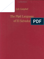 Campbell the Pipil Language of El Salvador