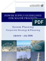 Major Project Guidelines 2008 Elect