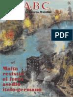 ABC 38 Malta resistió el feroz asedio italo-germano