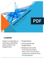 Plano de negócios para Instituto Engenharia