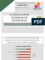 La Educación Superior en Honduras