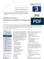 Treatment of Endodontic Emergencies