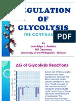 Regulation of Glycoysis