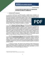 Manual Para Seleccion de Guias EIA