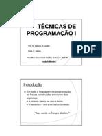 Técnicas de Programação I_parte 1 - teo - 2012