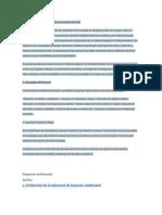 Estructura de Un Edtudio de Impacto Ambiental
