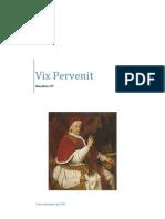 Sobre la usura - Vix Pervenit