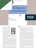Boccaccio Giovanni - The Decameron