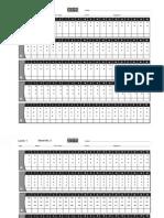 1st Level Practice Sheet