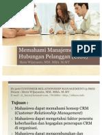 Class 1 - Memahami Manajemen Hubungan Pelanggan (CRM) - Copy
