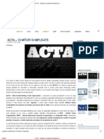 ACTA - 10 Mituri Si Implicatii _ Playtech