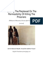 Guiding the Perplexed on the Permissibility of Killing the Prisoners