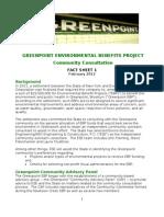 Green Point EBP Fact Sheet 1 Final