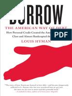 Borrow by Louis Hyman (Excerpt)