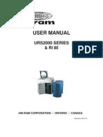 Manual_user - Urs2000 Series