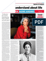 Nadine Gordimer - Interview on 12-02-22