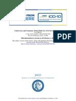 Efectos de Las Estatinas en Hombres y Mujeres Editorial JACC2012