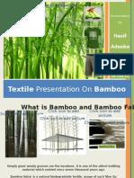 Textile Presentation - Bamboo