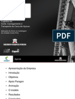 Logística do Corte, Carregamento e Transporte da Cana-de-Açúcar.