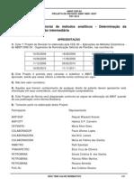 PROJETO DE REVISÃO ABNT NBR 14597