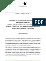 ELIMINAÇÃO DA IMPOSSIBILIDADE LEGAL DE ADOPÇÃO_proposta do bloco de esquerda_Fev2012