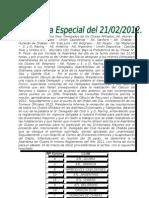 Asamblea Especial 21-02-12