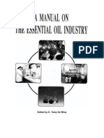 A Manual on the Essential Oil Industry