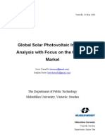 Solar Indstry Analyze Focus on China