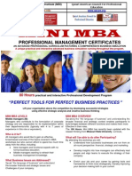 Mini Mba Better Business11!3!2012 Modified)