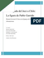 Pablo Garrido y Su Import an CIA en El Jazz