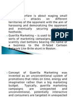 1 Ppt Presentation Guerilla Marketing