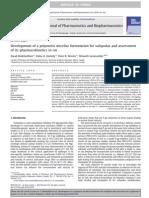 Development Polymeric Micellar Formulation Valspodar PK Rat_EuJPharmBiopharm_2010