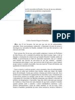 A destruição da pista do Aeroclube da Paraíba